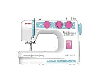 Швейная машина Janome Excellent Stitch 23